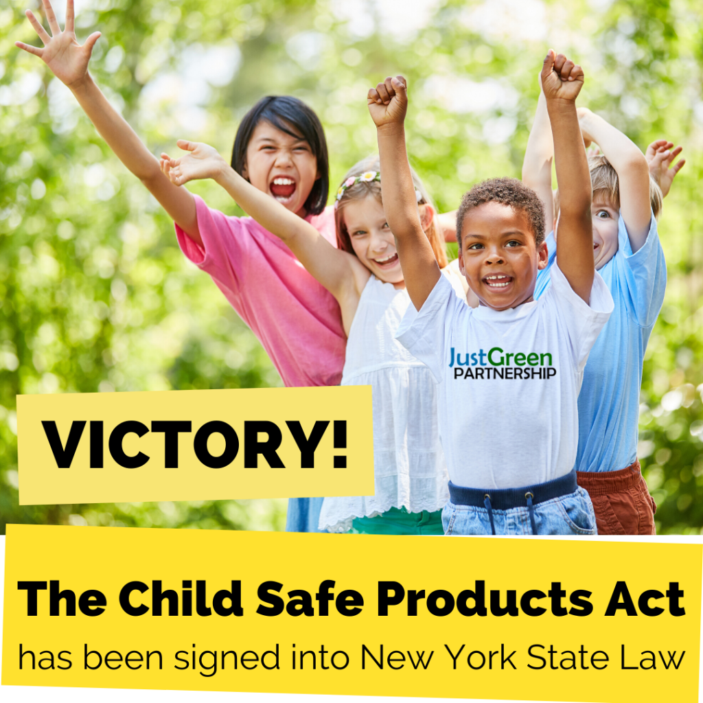 WIN — Child Safe Products Act signed into law!